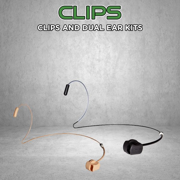 Mic Clips and Headsets