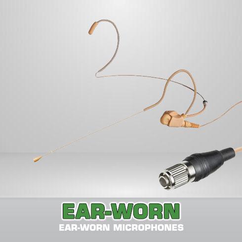 Earworn Microphones